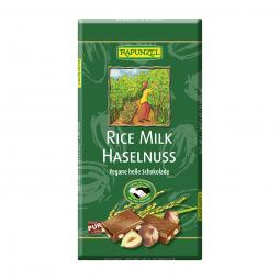 Čokoláda rýžová s kousky oříšků BIO 100 g Rapunzel*