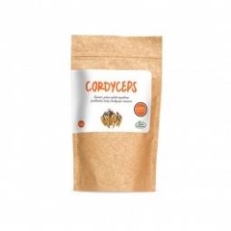 CORDYCEPS, prášek, 100% sušené mycelium, 50 g