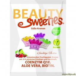 Bonbóny Beauty Sweety - Korunky 125 g vegan