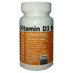 Vitamin D3, 60 tablet