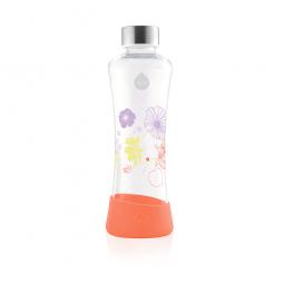 Láhev Equa flowerhead Poppy, 550 ml