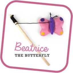 Beco Cat Nip hůlka - Motýl Beatrice