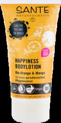 HAPPINESS tělové mléko BIO pomeranč a mango