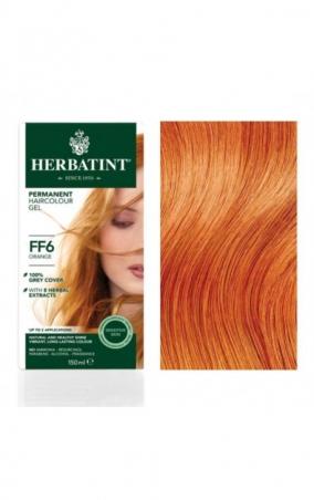 HERBATINT permanentní barva na vlasy oranžová FF6
