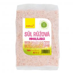 Himalájská sůl růžová 700 g Wolfberry v sáčku