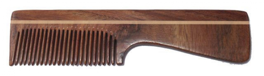 Hřeben palisandr - s rukojetí
