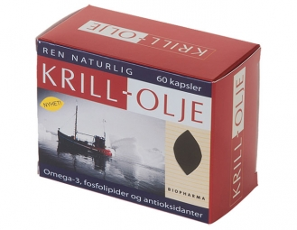 KRILL olje 60 kapslí
