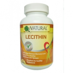 Lecitin 1200 mg, 60 kapslí