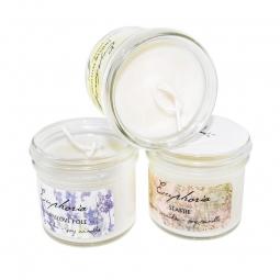 Levandulové pole - ručně odlévaná sójová svíčka