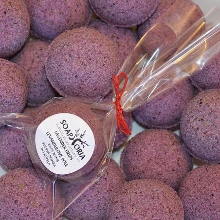 Levandulové pole - šumivá bomba do koupele