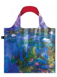 Nákupní taška LOQI Museum, Monet - Water Lilies