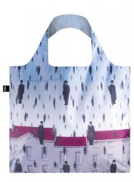 Nákupní taška LOQI Museum, Magritte - Golconda