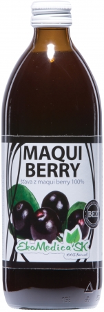 Šťáva Maqui berry 100% - 500 ml