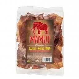 Sušené hovězí maso rovnou do pusy 25 g Mamut