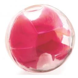 Hračka pro psa PLANET DOG - orbě-Tuff Maze, míček na pamlsky - malinová