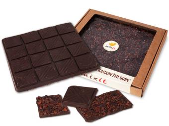 Čokoláda 'Hořká s kakaovými boby'