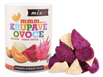 Dračí ovoce & Meloun - Křupavé ovoce