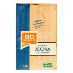 Mouka ječná celozrnná jemně mletá 1kg BIO