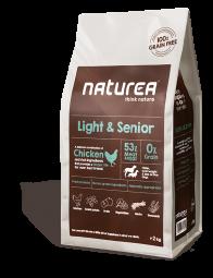 Naturea Light & Senior, 2kg