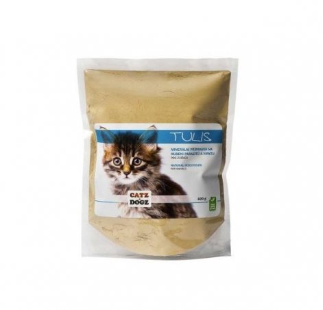 Tulis - čištění od parazitů a hmyzu (zip sáček) 400 g