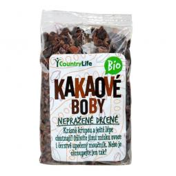 Kakaové boby nepražené drcené BIO 100 g