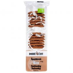 AKCE SPOTŘEBA: 09.02.2020 Sušenky špaldové kakaové 100 g BIO