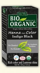 Henna barva na vlasy Indigo černá