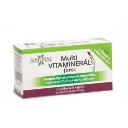 MULTI Vitaminerál FORTE - 30 kapslí