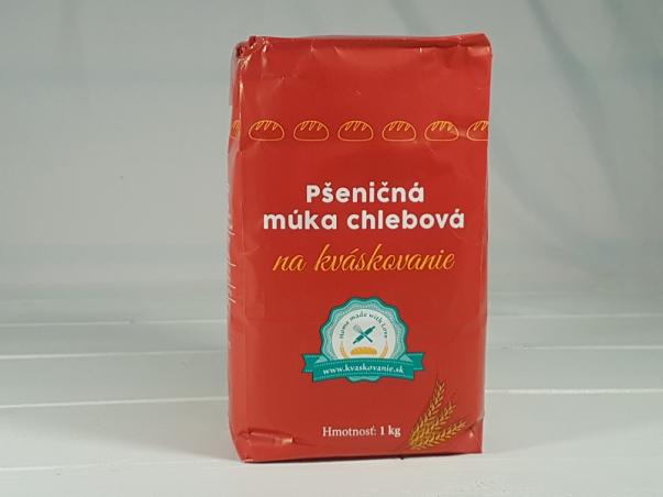 Pšeničná mouka chlebová na kváskovaní 1 kg