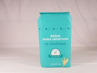 Žitná mouka celozrnná na kváskovaní 1 kg