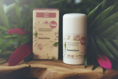 Tuhý Deodorant Dámský - Ranní Rosa