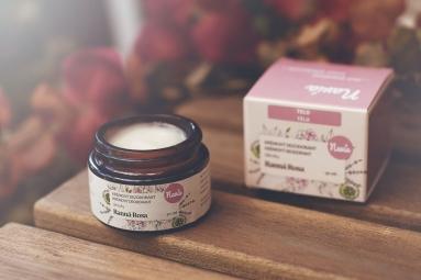 Jemný Krémový Deodorant Dámský - Ranní Rosa