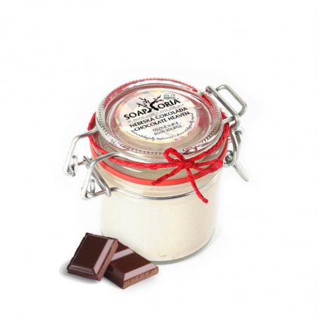 Nebeská čokoláda - organické tělové suflé
