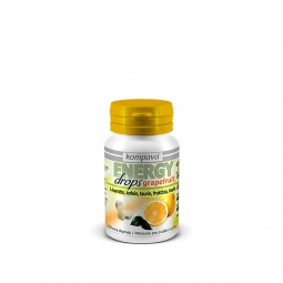 Energy drops 92 g / 80 tablet grapefruit