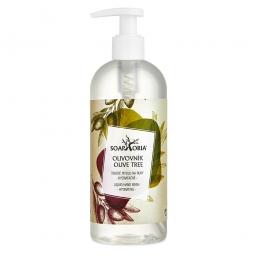 Olivovník - organické tekuté mýdlo na ruce