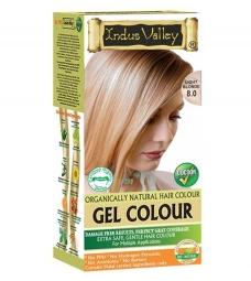 Gelová barva na vlasy Světlá Blond 8.0