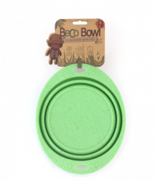 Miska pro psa, cestovní, BecoBowl Travel-green L, EKO