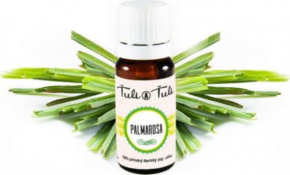 Palmarosa přírodní éterický olej-silice Ťuli a Ťuli