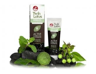 Zubní pastaTwin Lotus Herbaliste aktivní uhlí 150ml