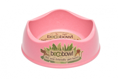 Předkolem pro psy, BecoBowl, EKO-pink-XS
