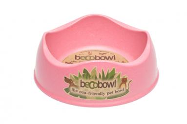 Miska před psem, BecoBowl, EKO-růžová-S
