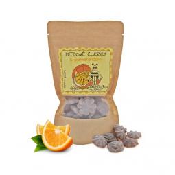 Medové bonbóny - s pomerančem 70g