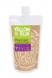 Prací gel z mýdlových ořechů s levandulovou silicí 250 ml (kapsa uzávěr)