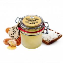 Ťuli a Ťuli - Přírodní tělový peeling Argan 85 ml
