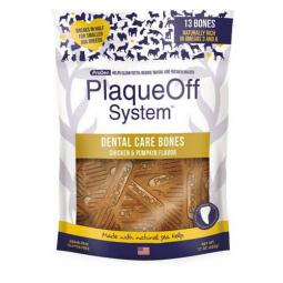 Doplněk výživy pro psy, Prodent PlaqueOff Dental Bones Chicken 482g