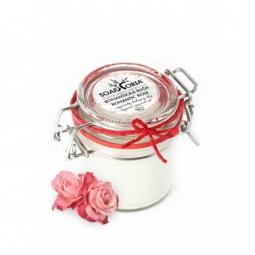 Romantická růže - voňavý organický kokosový olej