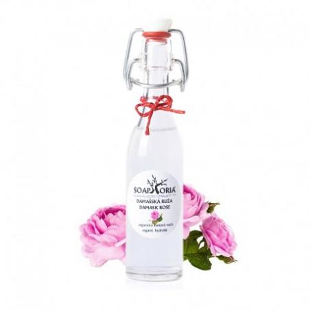 Růže damascénská - organická květová voda