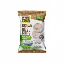 Rýžové chipsy smetana a cibule 60 g Rice Up