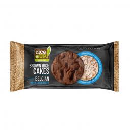 Rýžové chlebíčky s mléčnou belgickou čokoládou 90 g Rice Up