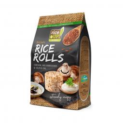 Rýžové minichlebíčky houby, smetana, olivový olej 50 g Rice Up